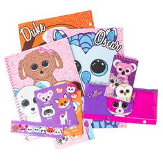 Ty Beanie Boos 11 Piece Stationery Set | Claire's