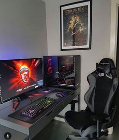 Computer Education World. The Best Advice On Buying A Desktop Computer. The time to buy a new computer is now. Best Gaming Setup, Gamer Setup, Gaming Room Setup, Pc Setup, Gaming Chair, Computer Gaming Room, Computer Desk Setup, Pc Desk, Gaming Desktops
