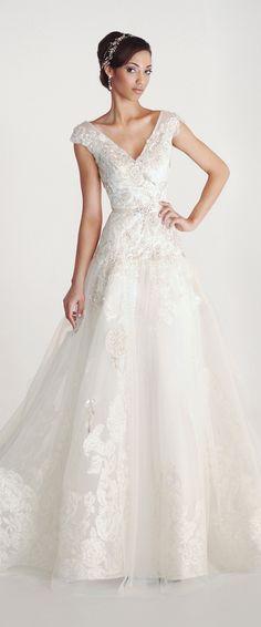 Eugenia Couture Spring 2016 Wedding Dress - Celeste
