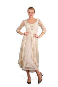66659bd2f Nataya Pearl Nataya 40163 Vintage Style Wedding Dress Size 16 Dresses, Mob  Dresses, Vintage