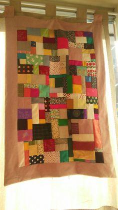 patchwork curtain