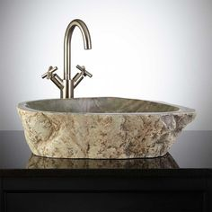 Petipa Natural Stone Vessel Sink