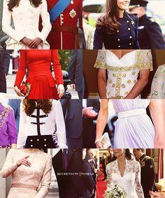 Duchess of Cambridge's fashion alphabet → Alexander McQueen