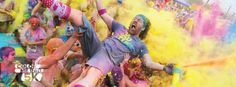 Color Me Rad 5K at Bath and West Showground, Shepton Mallet on Saturday 20 June 2015