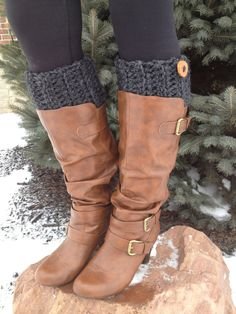Womens Boot Cuffs Womens Boot Toppers Womens Boot by KokoHats, $28.99