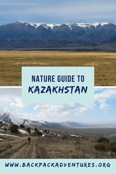 Backpacking Kazakhstan: This post is a Kazakhstan nature travel guide about when and where to see Kazakhstan's nature for the independent budget traveller Travel Articles, Travel Advice, Go Hiking, Brunei, Asia Travel, Laos, Travel Guides, Nepal, Family Travel