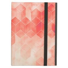 Red Geometric Cube Graphic Design Case For iPad Air - retro gifts style cyo diy special idea