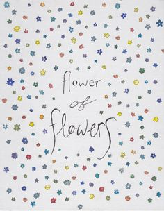Flower of flowers//The Luckiest Girl