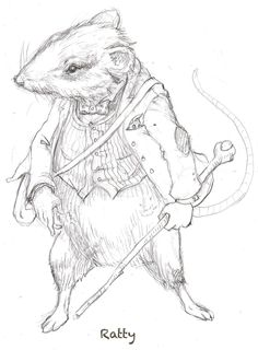 Ratty from The Wind in the Willows App www.thewindinthewillowsapp.com