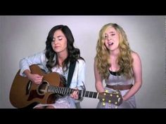 """Megan & Liz """"Payphone"""" (Maroon 5 cover)  •these girls are amazing singers! listen to them and you will think the same thing<3"""