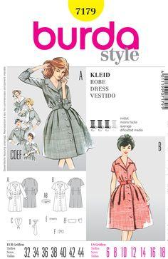 From UK Sewing Pattern  Dress 14-22 #6953