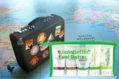 Forever Travel Kit Anywhere you go, you can take Forever! Take Forever wherever you go in and experience your new favorite personal care products convenient travel sizes. Forever Travel, Marketing Opportunities, Forever Living Products, Travel Kits, Multi Level Marketing, Travel Size Products, Feel Better, All Things, How To Apply