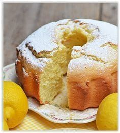 Lombardy - The Other Side of Italian Food Food Cakes, Cupcake Cakes, Cupcakes, Lemon Desserts, Easy Desserts, Sweet Light, Sweet Recipes, Cake Recipes, Confort Food