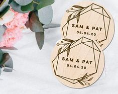 Etsy :: Your place to buy and sell all things handmade Groomsmen Gifts Unique, Groomsman Gifts, Custom Wedding Favours, Wedding Coasters, Wooden Sunglasses, Custom Coasters, Unisex, Our Wedding, Wedding Ideas