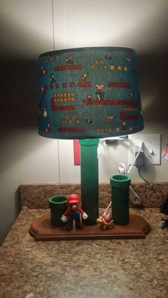 hand made Mario lamp - Penwell