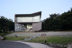 Adagio Valley for Department of Music at University of Seoul / Wooridongin Architects