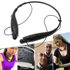 Bluetooth Wireless Headset Earphone Headphone Sport Stereo For iPhone Samsung LG | eBay