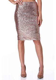 Golden Grammy Sequin Midi Skirt   Shop for Golden Grammy Sequin Midi Skirt Online