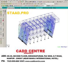 9 Staad Pro Structural Designing And Analysis Images In 2020 Structural Analysis Software Design Civil Engineering