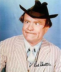 """Red Skelton Show - the two seagulls...Gertrude and Heathcliff. He always signed off, """"Good night and God bless."""""""