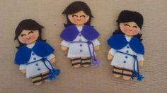 Monaguillas Hermandad de Los Negritos Azules , tramo Virgen y morado,tramo Cristo