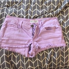 Pacsun purple shorts Super cute and in great shape :) PacSun Shorts Jean Shorts
