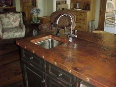 Wonderful Custom Copper Kitchen Islands By Coppergal On Etsy, $50.00