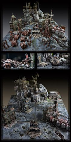 Game table WH40K (without road)