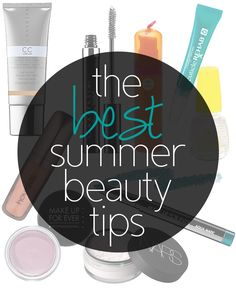 great summer #beauty tips and products from beauty bloggers!