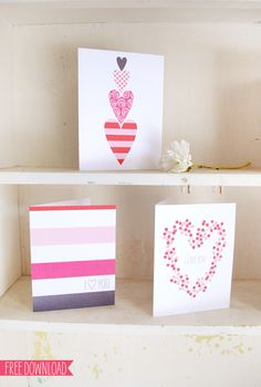 Day 6-Five FREE Valentine's Day Card Printables   Muffin Grayson