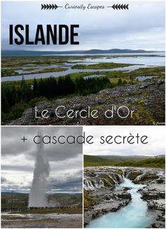Cercle d'Or en Islande: Parc de Thingvellir, Geysir et Gullfoss. Finland Travel, Denmark Travel, Norway Travel, Voyage Suede, Have A Nice Trip, Les Cascades, Destinations, Voyage Europe, Future Travel
