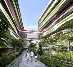 SINGAPORE UNIVERSITY OF TECHNOLOGY AND DESIGN By UNStudio, DP Architects and Enea  http://www.archello.com/en/project/singapore-university-technology-and-design