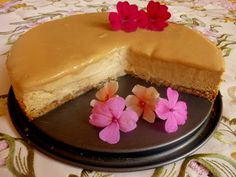 SPLENDID LOW-CARBING BY JENNIFER ELOFF: Pumpkin Cheesecake With Caramel Topping (GF)