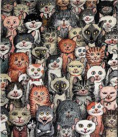 Franco Matticchio - Bande de chats