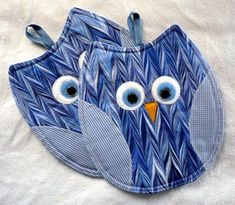 New owl-potholders!!!