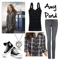 Amy Pond: Season 5 Promo by fandom-wardrobes on Polyvore