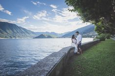 Engagement on Como Lake - Italy  More on www.collephoto.com