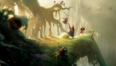 The Croods: novas artes de Leighton Hickman