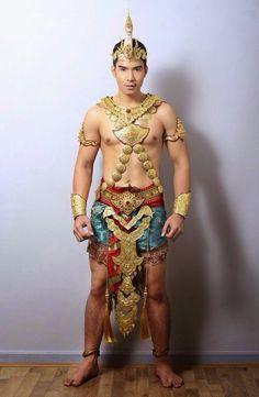 Mister International National Costumes Mister Thailand 2014