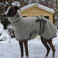 Greyhound Sweater - Greyhound Coat - Greyhound Jumper - Sighthound Coat - Large Dog Sweater - Large Dog Clothes