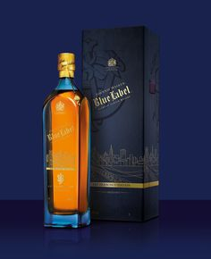 Johnnie Walker Blue Label 'Cityscape Series' designed by Diageo Global Travel