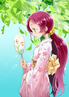 Tags: Anime, Fan, Hanasaki Tsubomi, Heartcatch Precure!, Mousoup