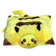 "Amazon.com: Pillow (Cushion) - Pokemon - 17"" Pikachu Plush Doll: Toys & Games"