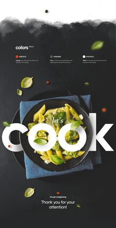 Just as the ingredients are important for a recipe, the design is equally important for a website. The design is the first impression, make it impactful! Food Web Design, Food Graphic Design, Food Poster Design, Graphic Design Trends, Menu Design, Graphic Design Posters, Graphic Design Inspiration, Layout Design, Creative Design