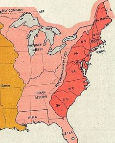 map of colonies  Historyscapes  Pinterest  Genealogy History