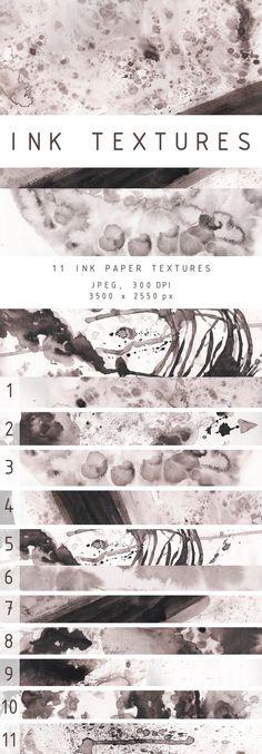 INK TEXTURES. Textures. $7.00