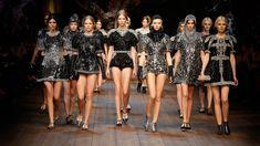 D&G winter 2015 fashion show