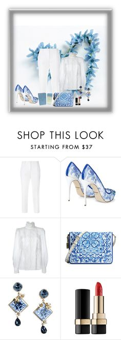 """Dolce"" by fran-olbino on Polyvore featuring Dolce&Gabbana, women's clothing, women, female, woman, misses and juniors"