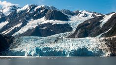 Out in Prince William Sound in Alaska are 20 to 30 glaciers. This is one seen on my travels in the Sound. Glacier Bay Alaska, Photos Of The Week, Prince William, Mount Rainier, Landscape Photography, Travel Photography, Mount Everest, The Good Place, Tourism
