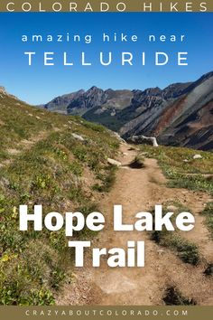 Hope Lake Trail is one of the most sought after trails near Telluride, CO and we had the pleasure of finding out why. Loved it! High peaks hovering above us as we hike through green lush forests, crossing creeks, and hiking up switchbacks to find a beautiful alpine lake high above the treeline in a basin lined with 13ers.